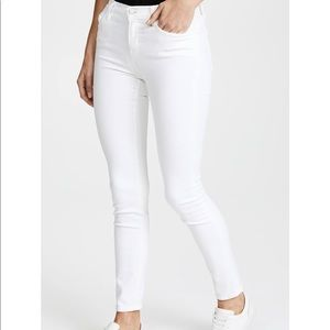 J Brand White Wash Skinny Jean